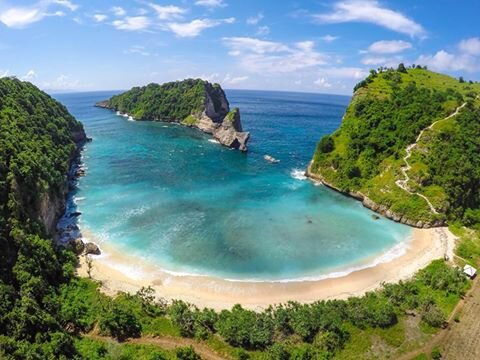 <p>East part of Nusa Penida island  </p>